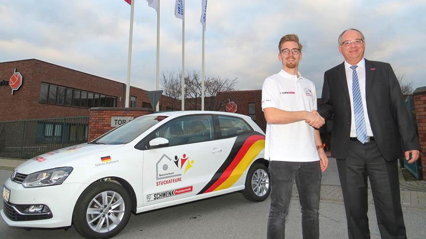 VW Polo als Anerkennung für die Aufnahme ins Nationalteam
