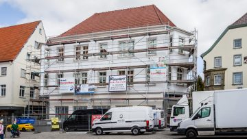 Wir gestalten die Fassade des ehemaligen Kress-Gebäudes